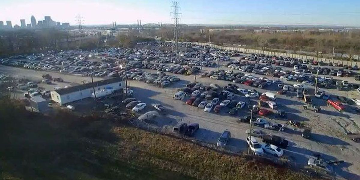 LMPD's impound lot is full, unclear when new location will be found