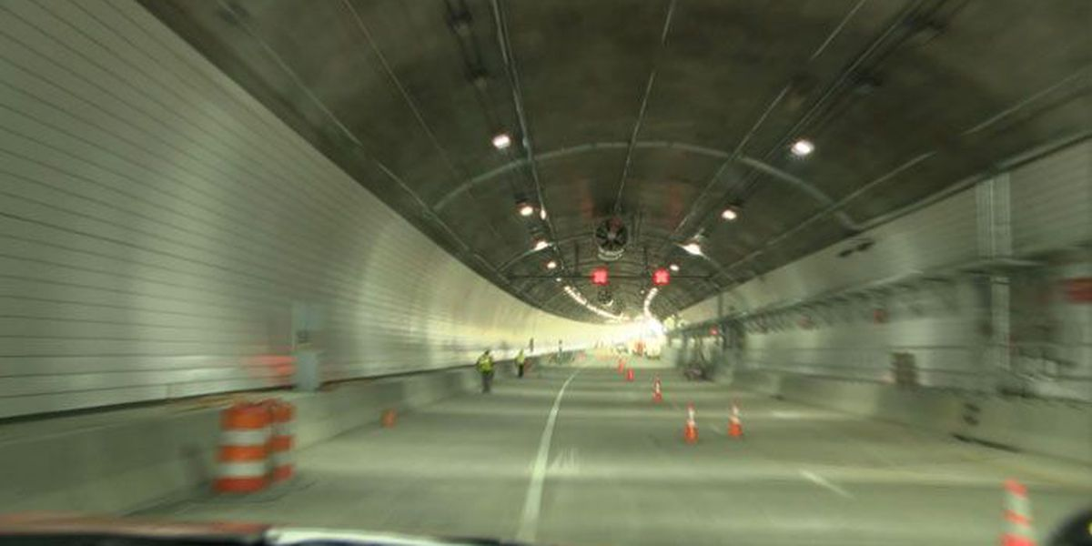 KYTC restricting hazmat vehicles in East End Tunnel