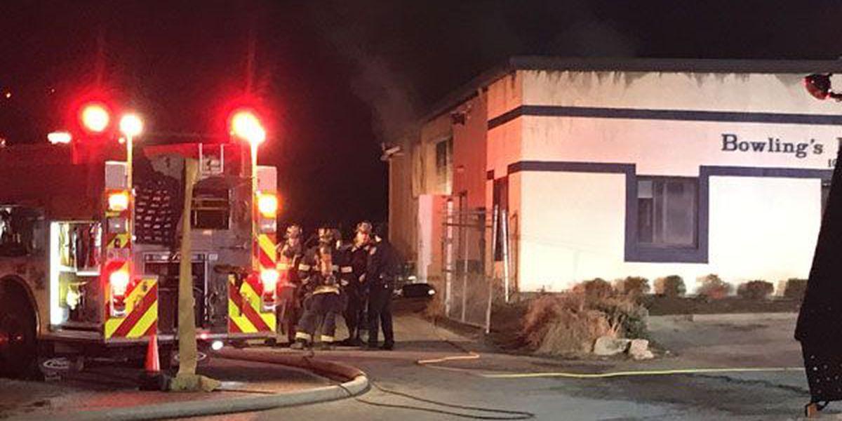 Fire starts in Jeffersontown business