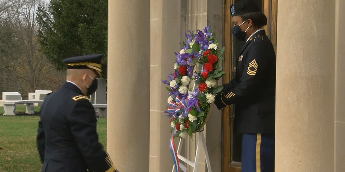 Ceremony honors late U.S. president on his birthday