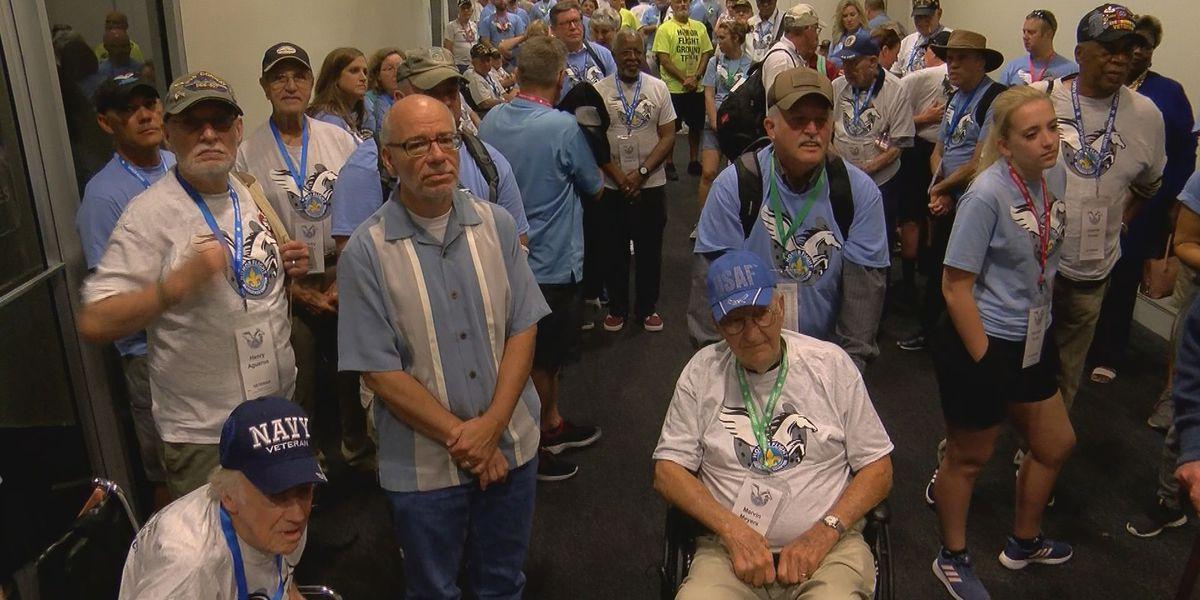 WAVE Country veterans make Honor Flight