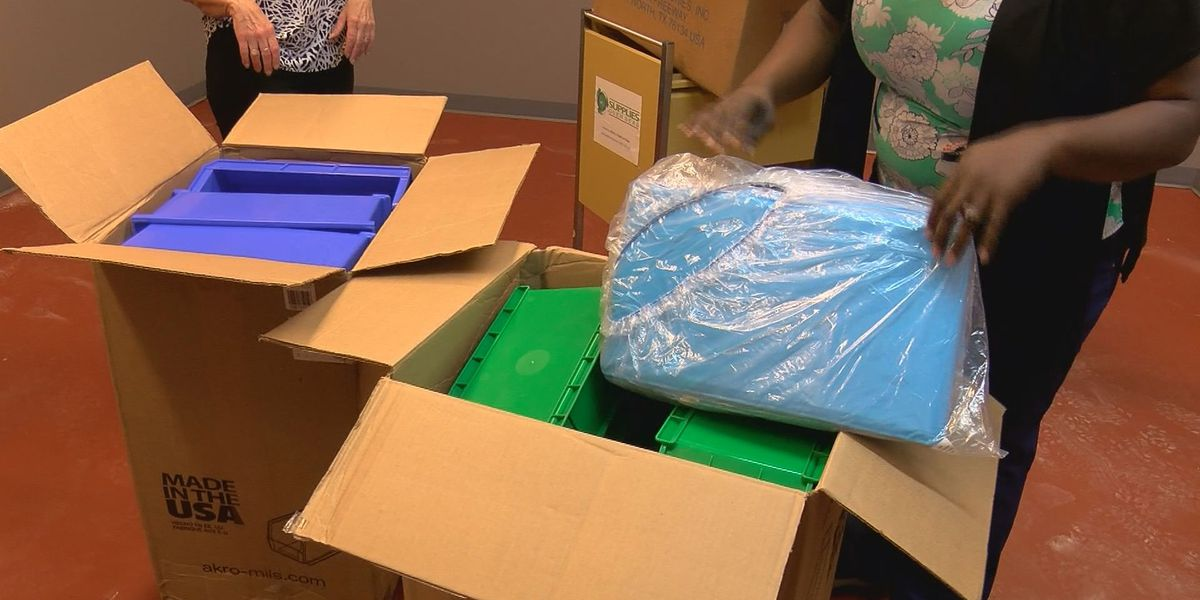New CNA training center receives more than $10K in donated supplies