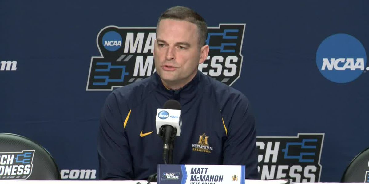 Murray State head coach at pre-Marquette news conference