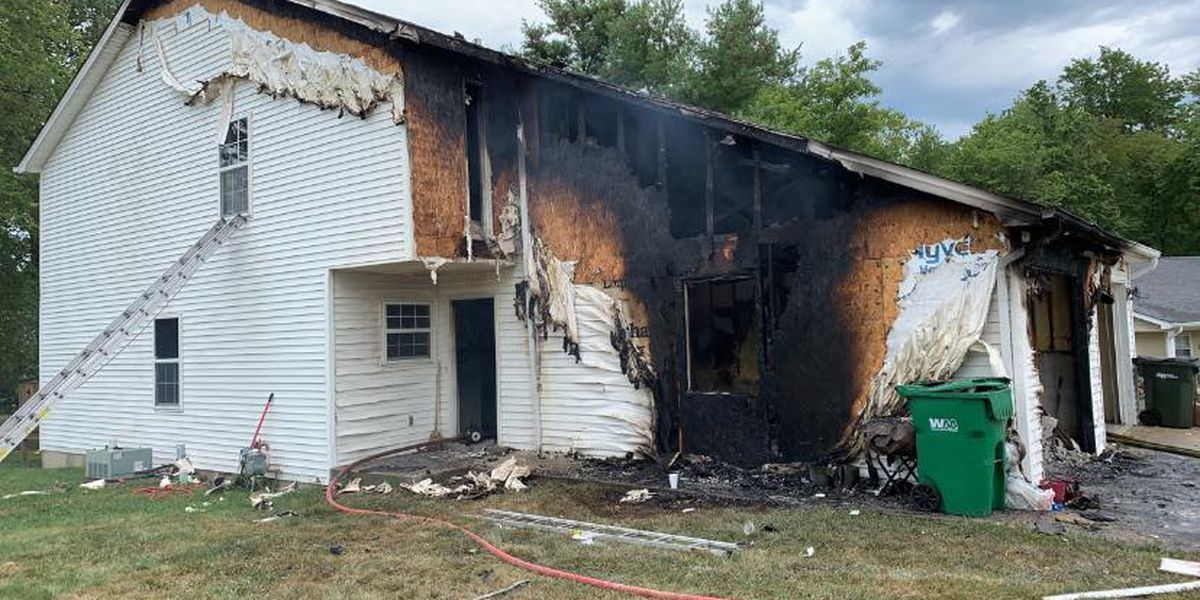 EFD save unconscious man from burning home