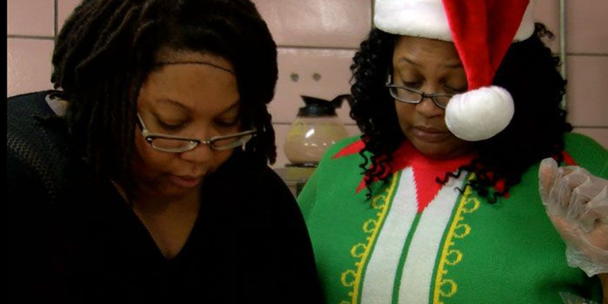 Volunteers give time on Christmas Day to feed homeless