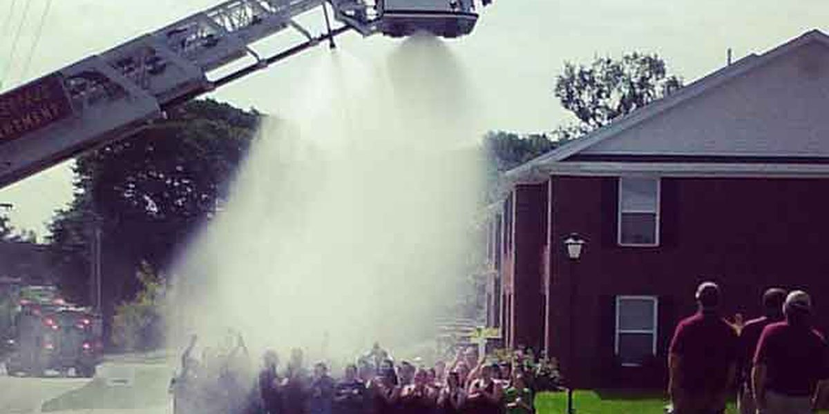 Vigil for firefighters shocked while helping with ice bucket challenge being held around the clock