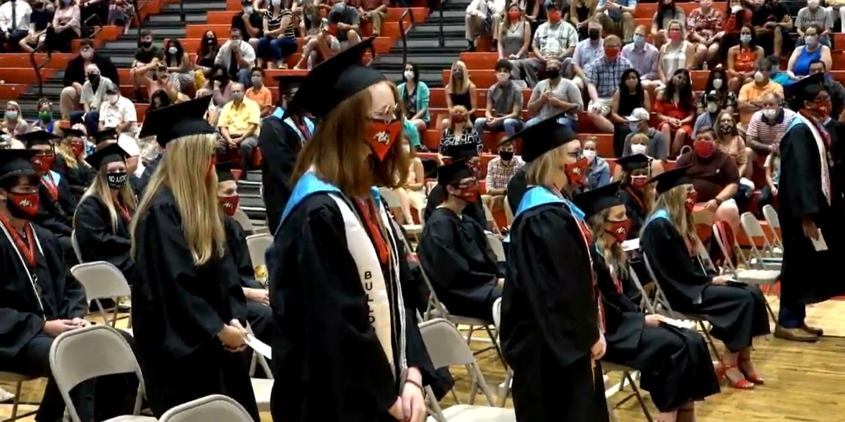 New Albany and Floyd Central High Schools celebrate graduations in-person with safety guidelines