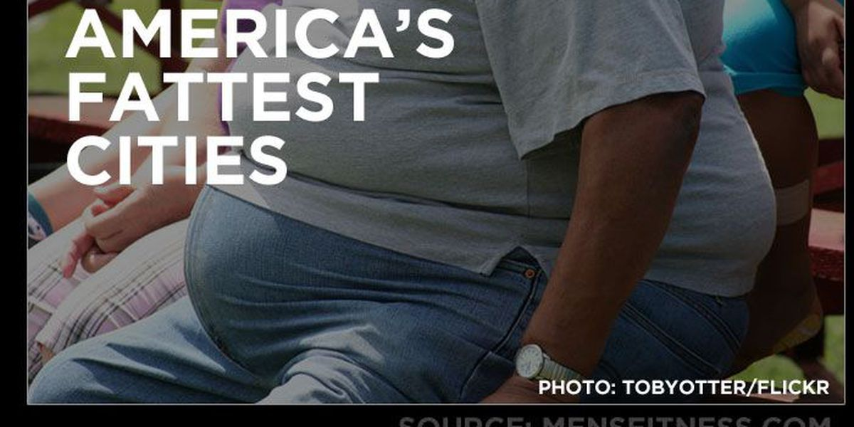 LIST: Where does Louisville rank among America's fattest cities?