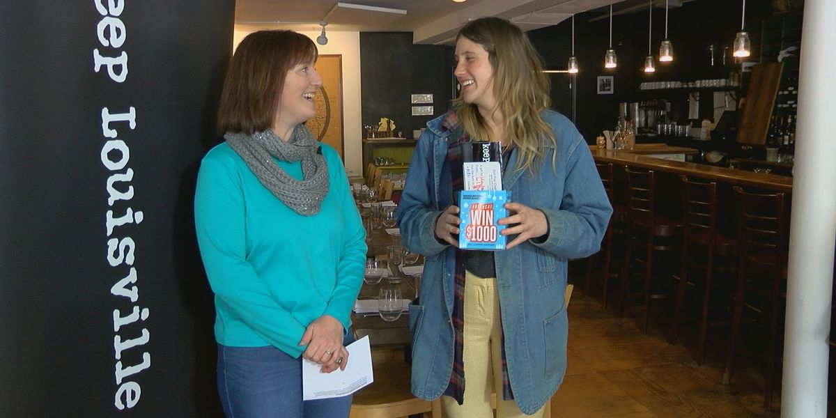 Shopping local lands woman $1,000 to spend at local businesses