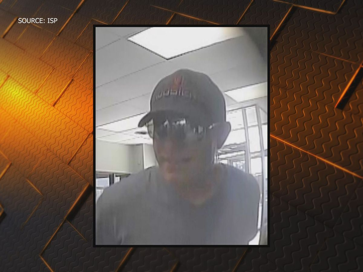 Indiana State Police need help identifying bank robber