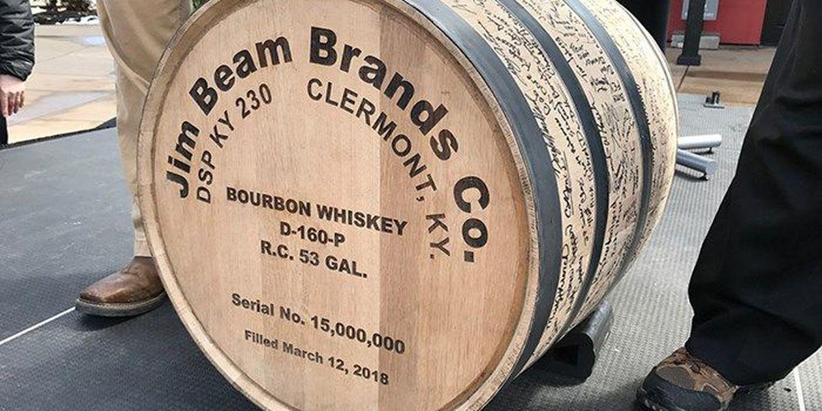 Jim Beam distillery marks historic milestone