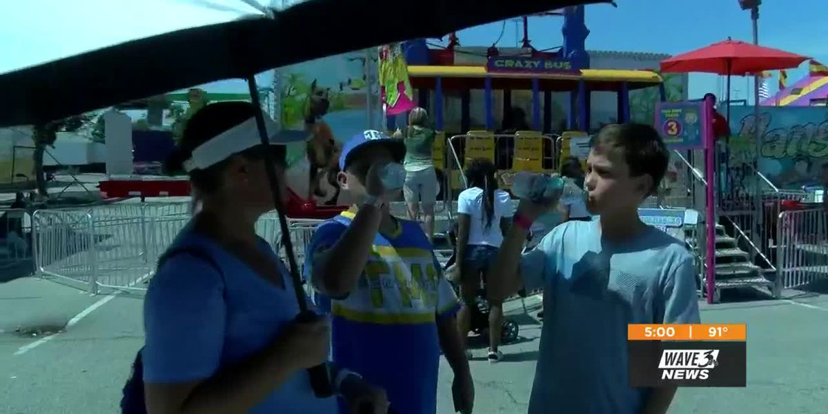 Kentucky State Fair: Here's how people are beating the heat