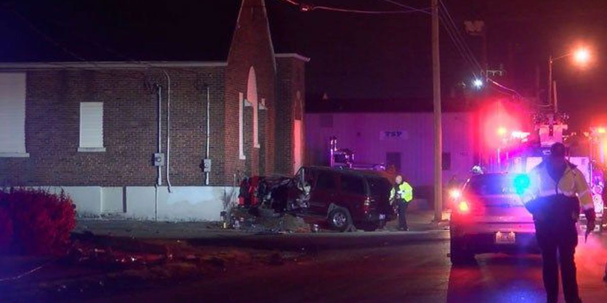 Man killed when SUV crashed into building identified