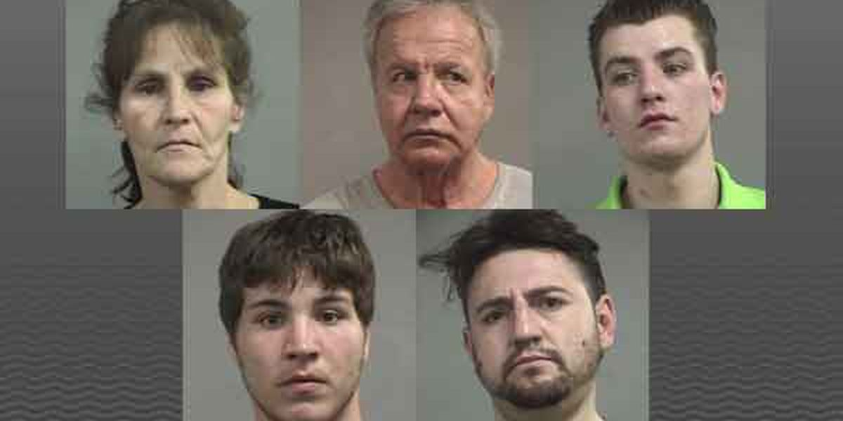 7 charged with stealing from elderly homeowners