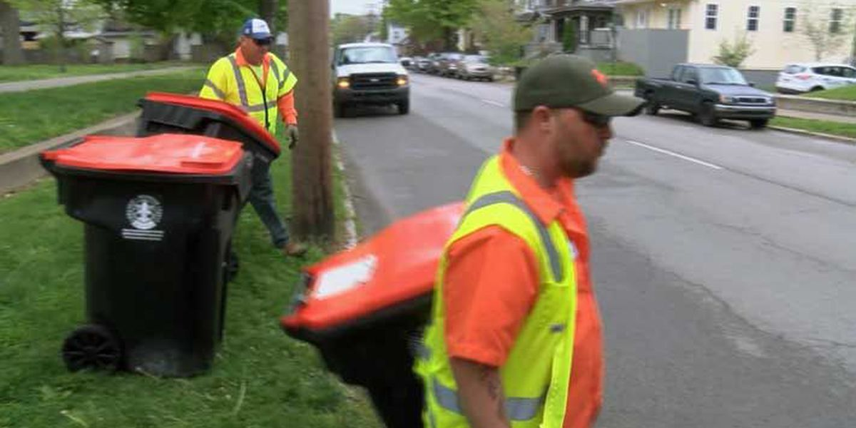 Study finds two-thirds of trash in Louisville shouldn't be thrown away