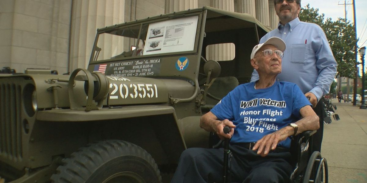 World War II vets honored in Louisville on D-Day anniversary