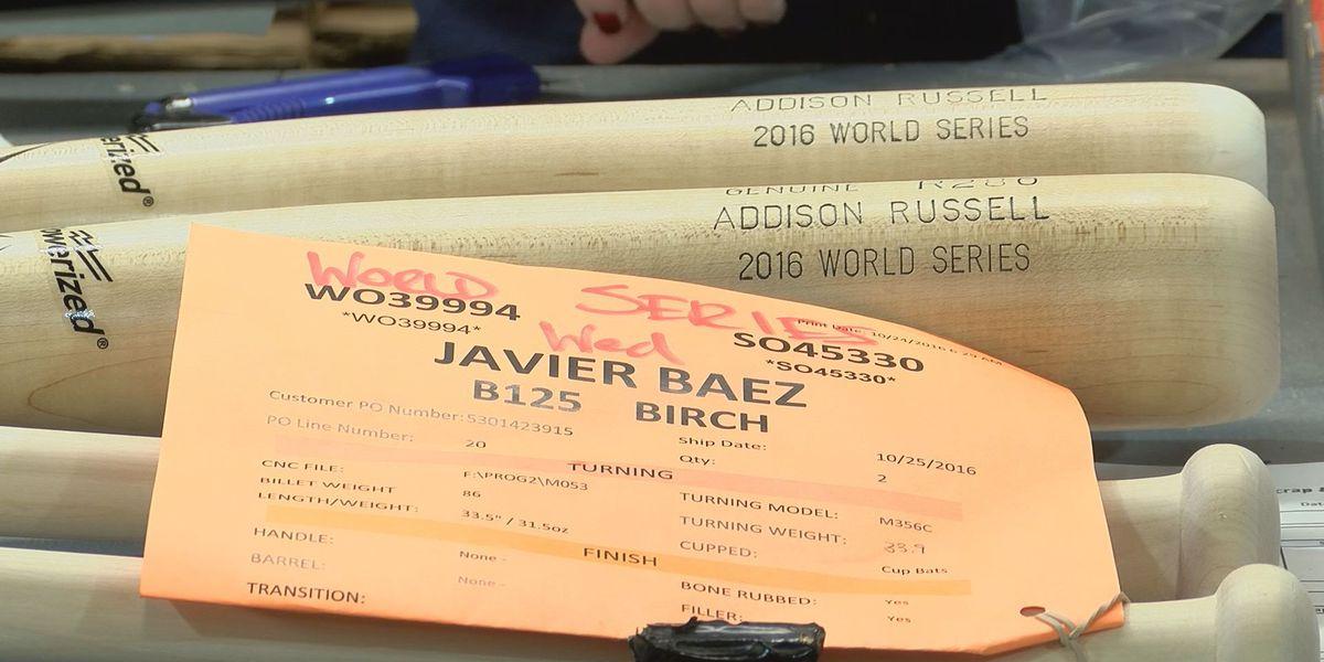 Louisville Slugger cranks out World Series bats