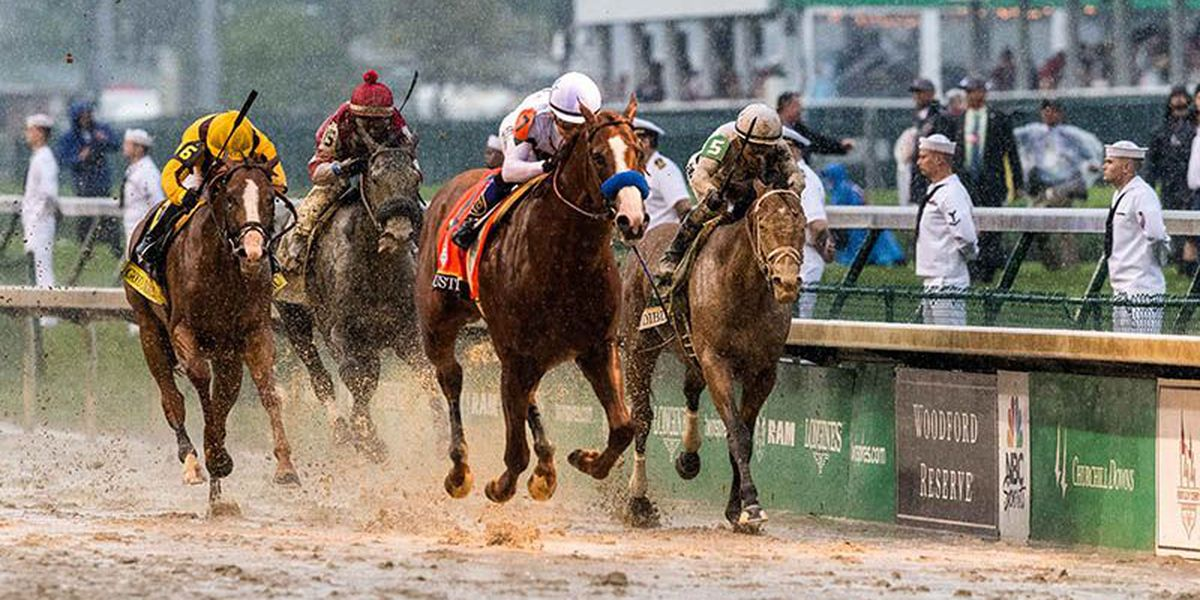 IMAGES: Justify romps in the slop