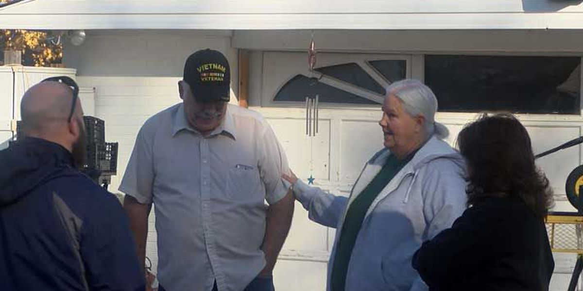 Unions stepping up to help build home for veteran living in a shed