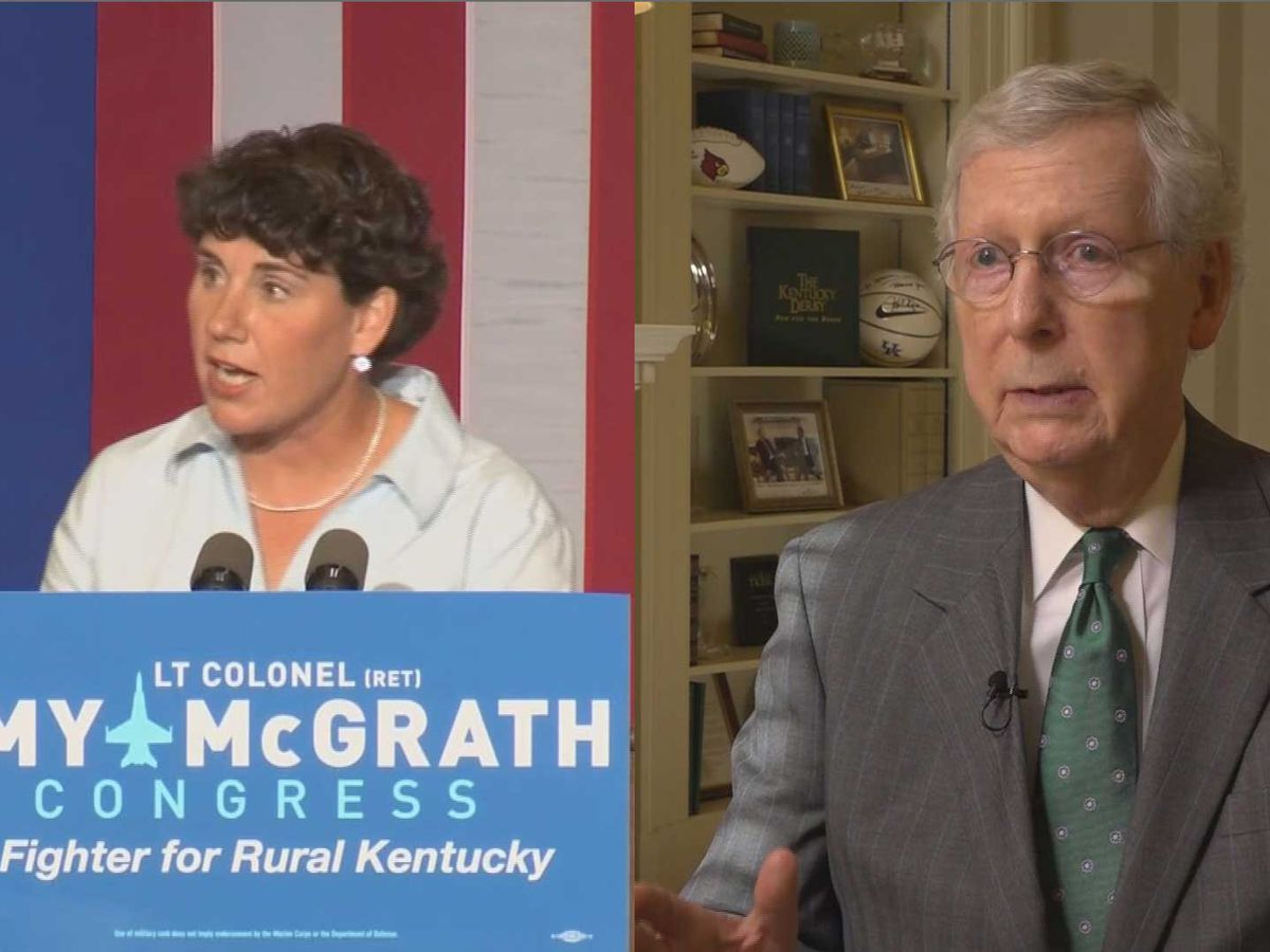 Amy McGrath launches campaign to unseat McConnell