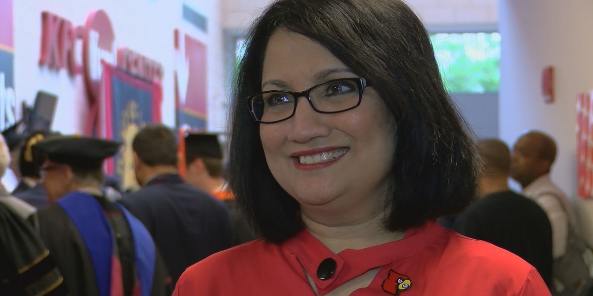 UofL President Dr. Neeli Bendapudi celebrates one year on the job