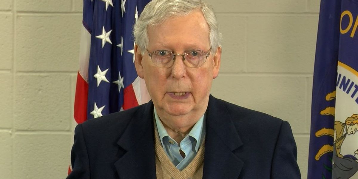 McConnell suggestion of bankruptcy for states raises questions