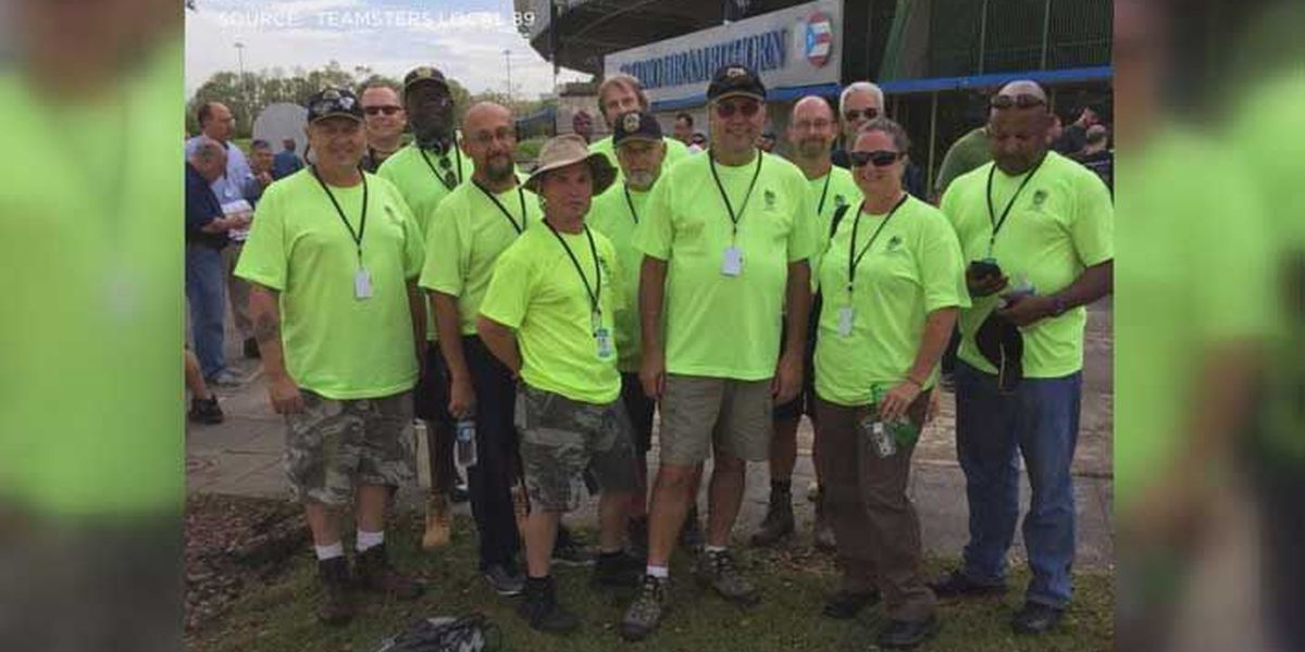 Teamsters head to Puerto Rico to transport supplies