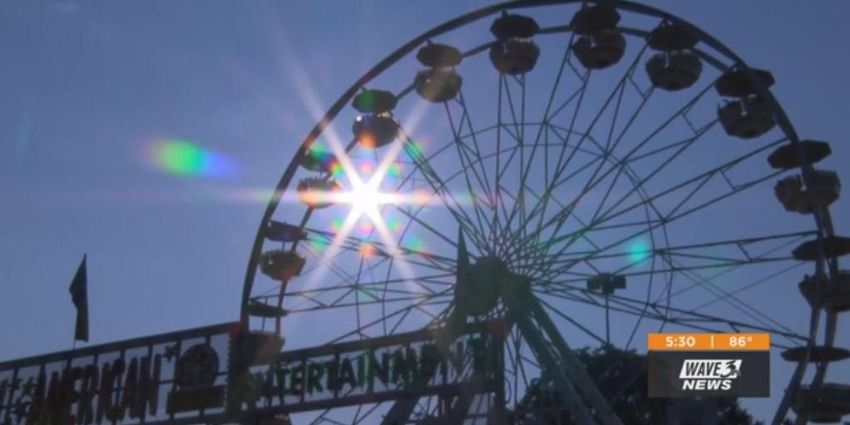 Kentucky State Fair ready for the heat with plenty of water, AC