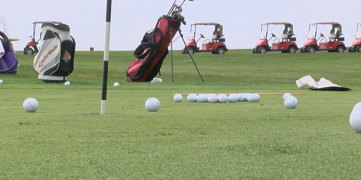 UofL golfers teach wounded warriors tips