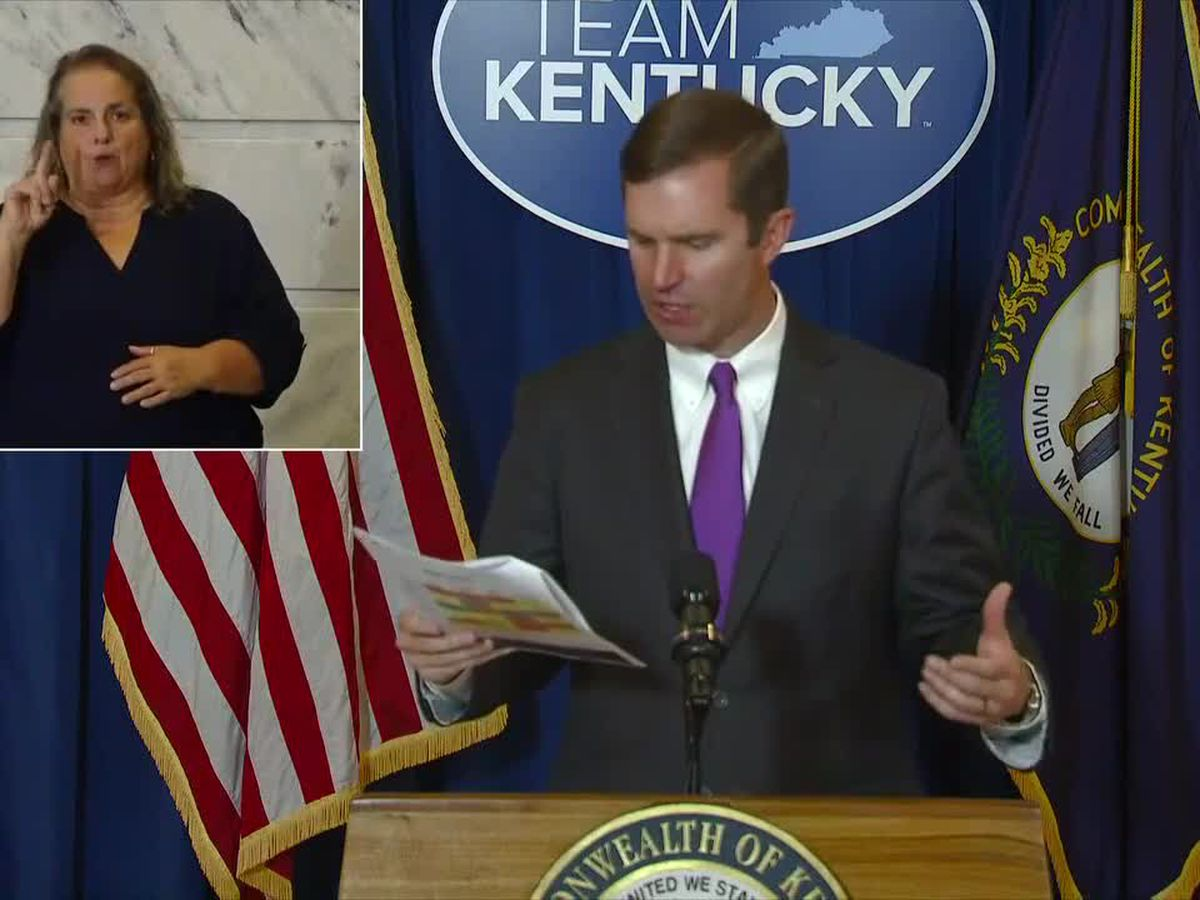Gov. Beshear: 439 new cases of COVID-19 in Ky., 3 new deaths