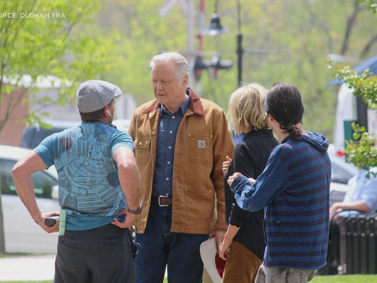 Jon Voight spotted filming movie in La Grange