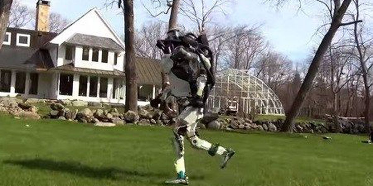 Running robot is scaring everyone on the internet