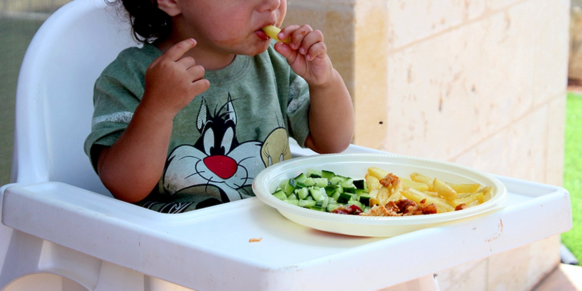 New USDA, HHA dietary guidelines includes babies and toddlers