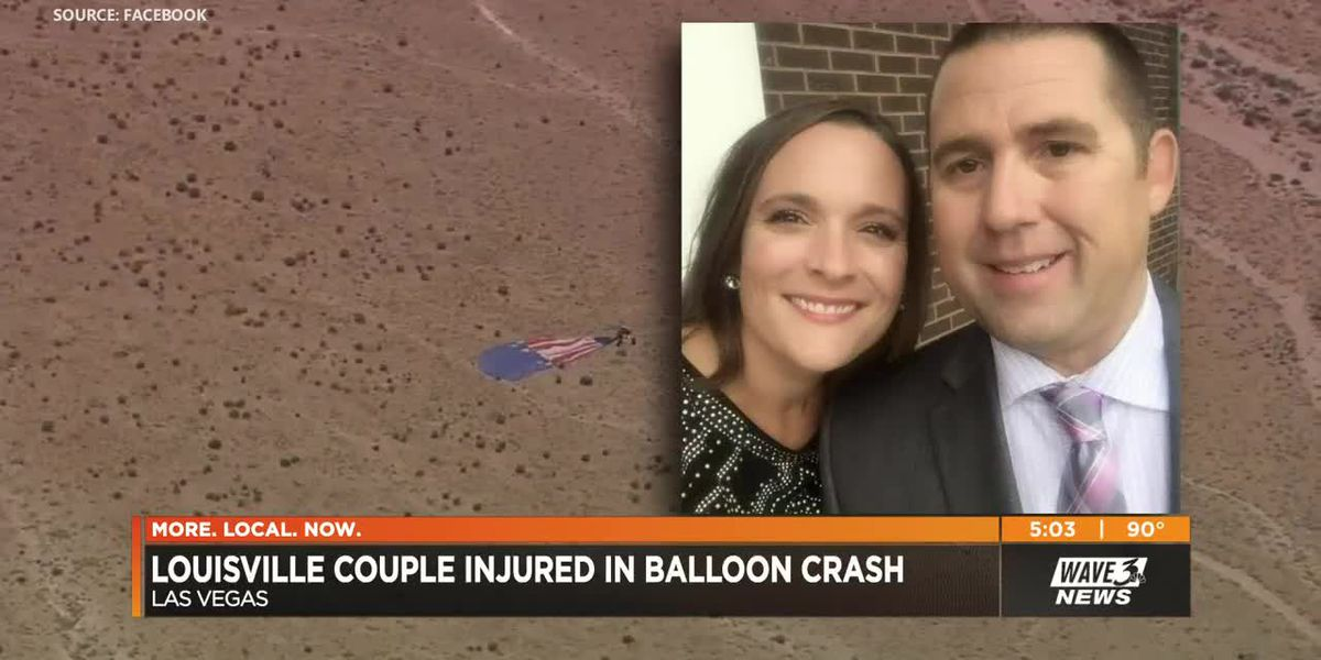 Louisville couple among 9 total injured in Vegas hot air balloon crash