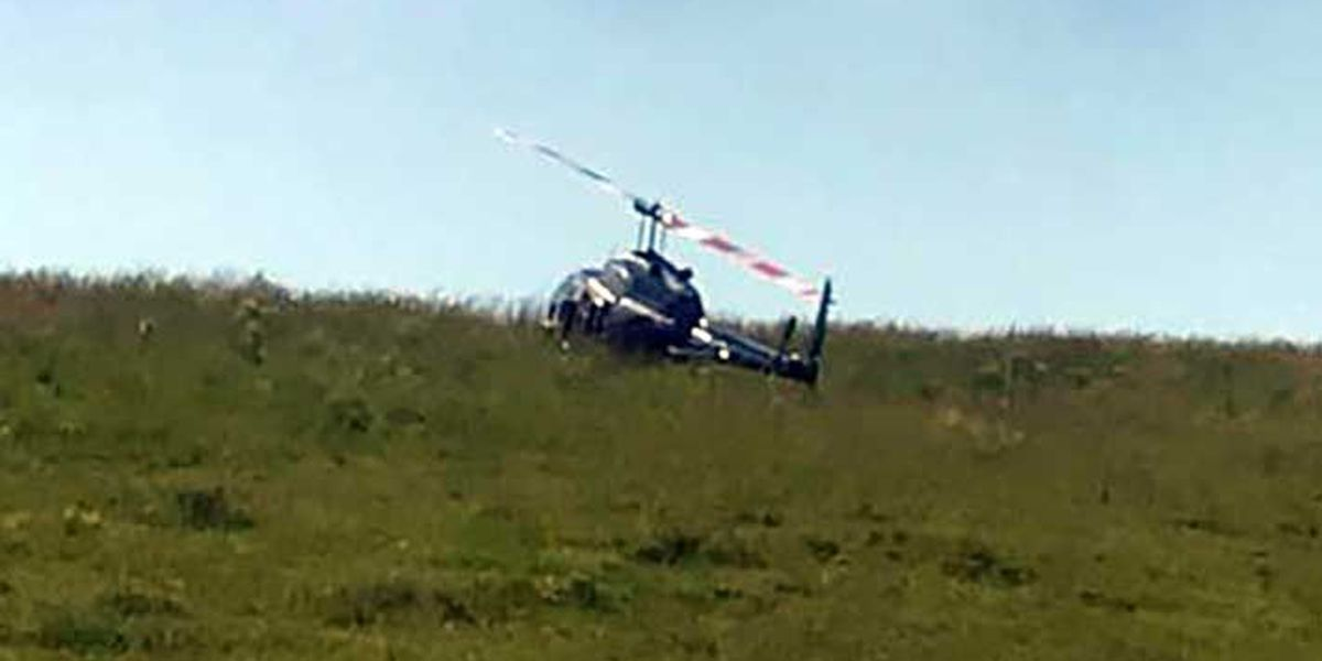 Helicopter makes emergency landing in Carroll County