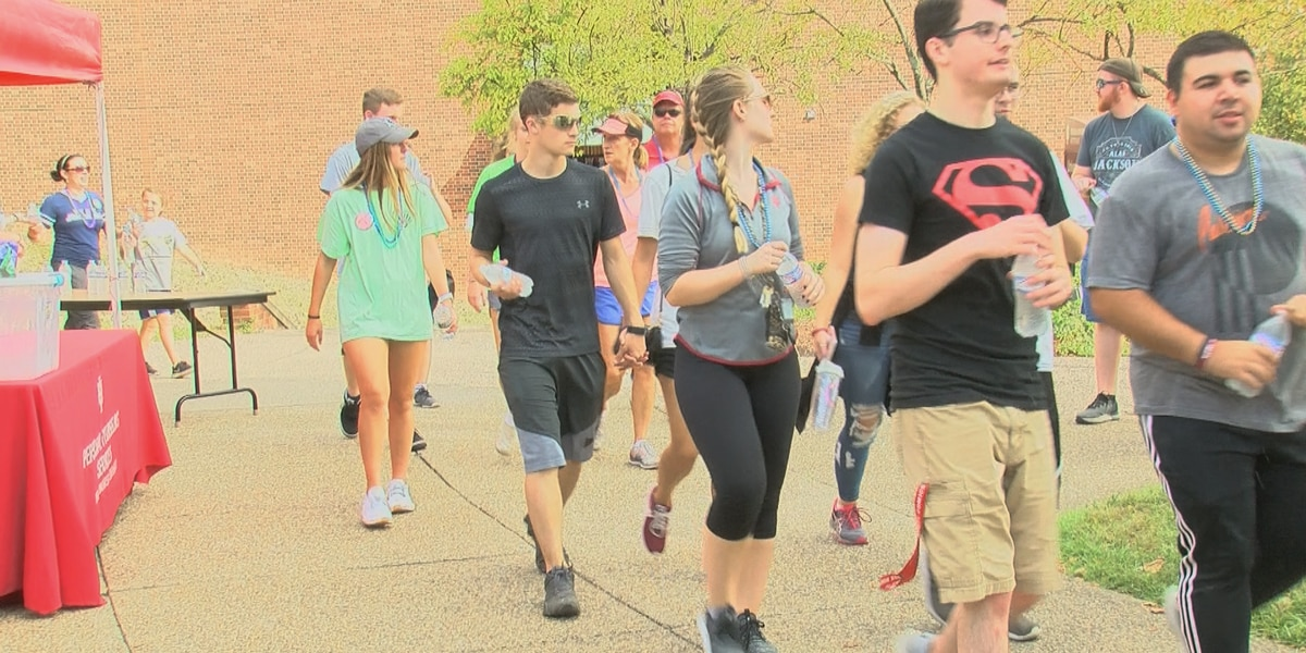 Indiana University Southeast holds walk to bring awareness to suicide