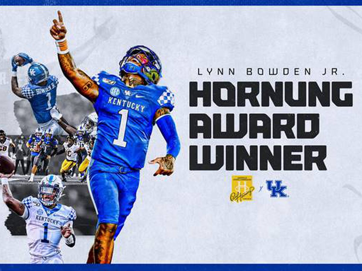 Lynn Bowden Jr. named UK's first Paul Hornung Award winner
