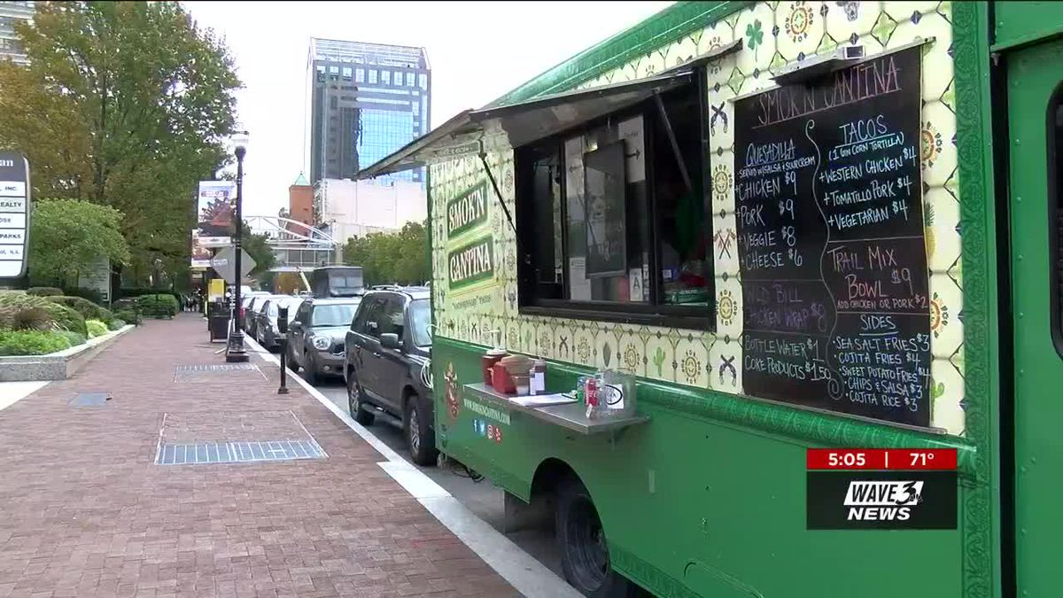 Food truck vendors, supporters converge on City Hall to oppose proposed ordinance