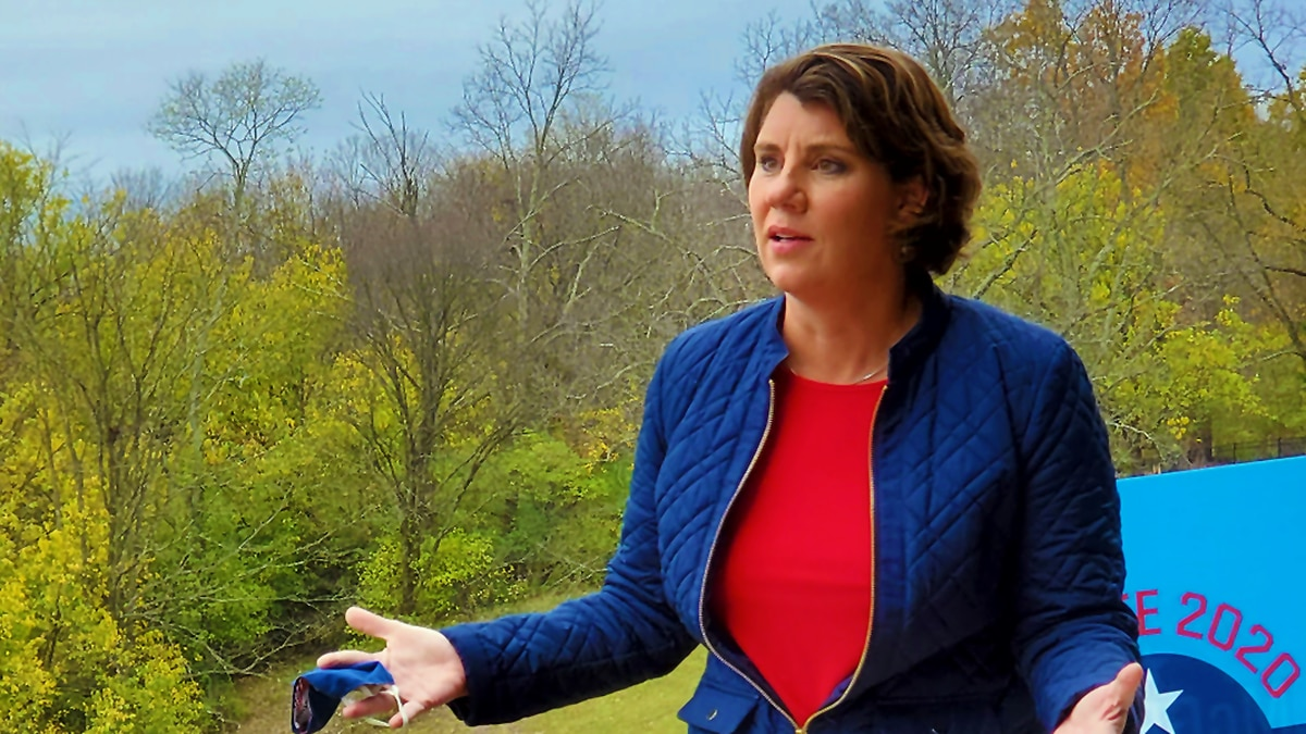 Amy McGrath remains hopeful as Election Day nears