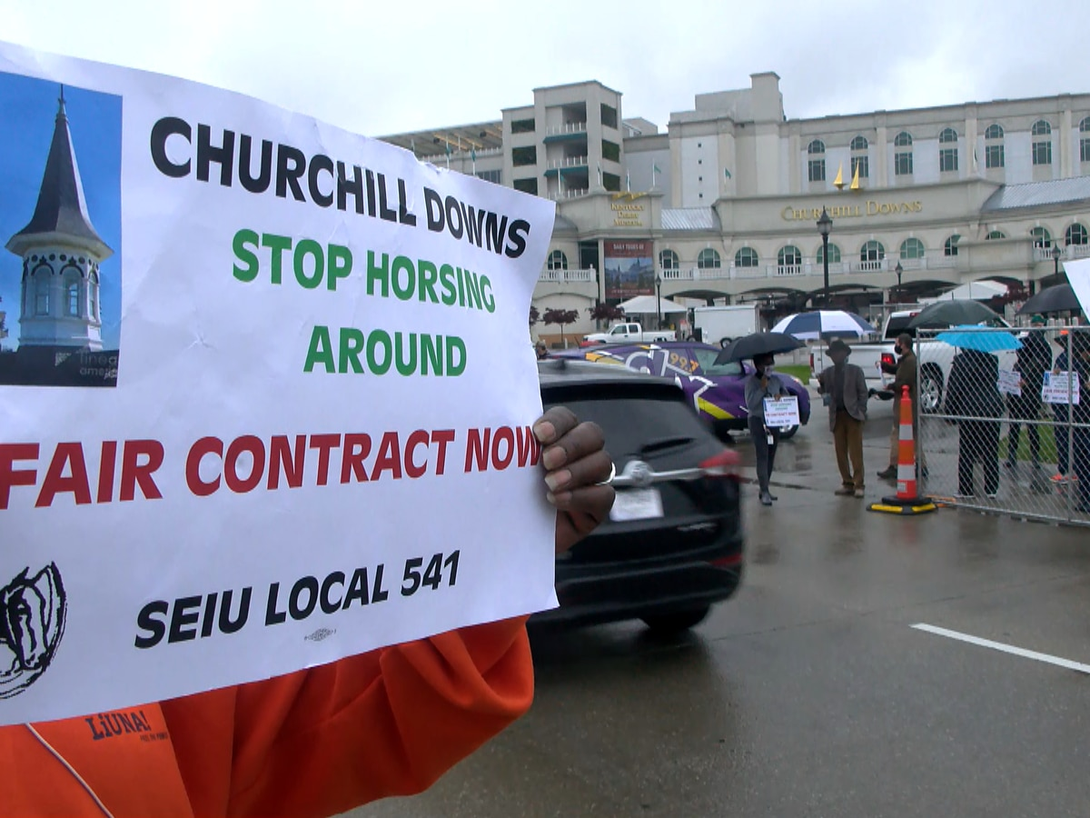 SEIU authorizes potential Derby valet strike at Churchill Downs