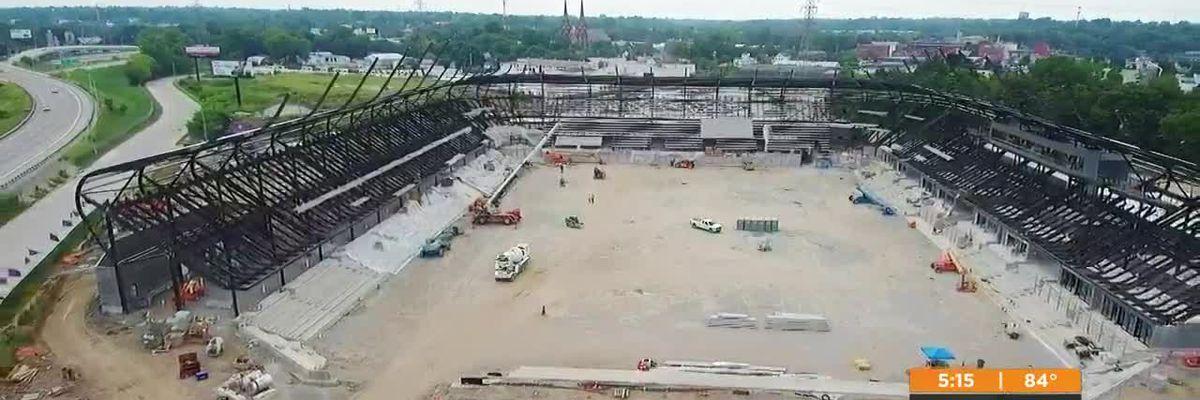 LouCity FC's new facility starting to take shape