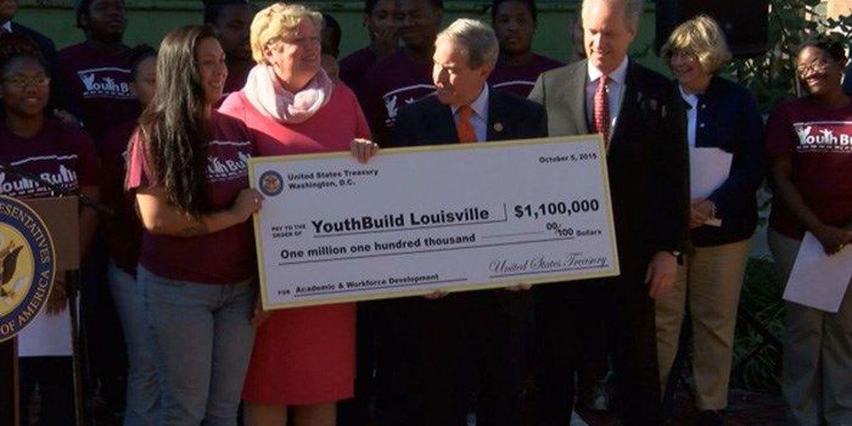 YouthBuild Louisville receives $1.1 million grant