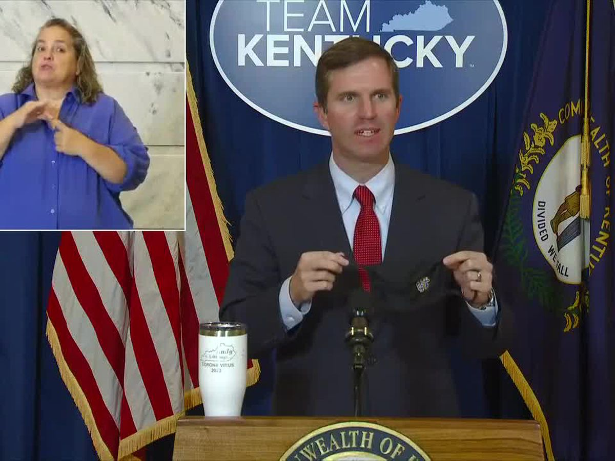 WATCH LIVE : Governor Andy Beshear's September 21 COVID-19 briefing