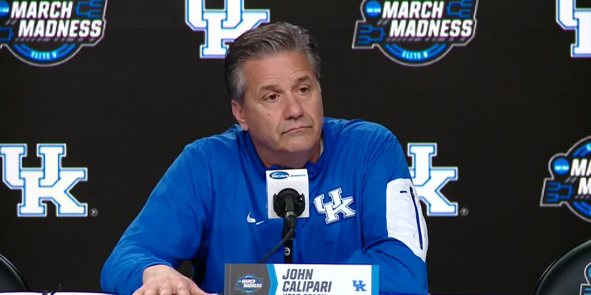 John Calipari's NCAA Tournament pre-Houston news conference