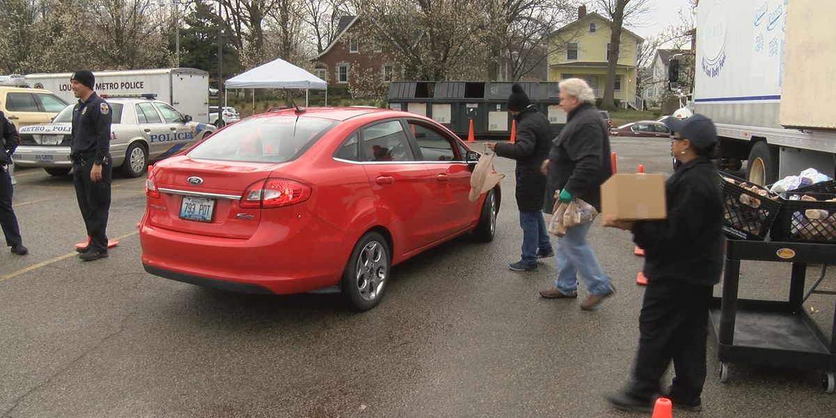 March for Meals program distributes free food to seniors