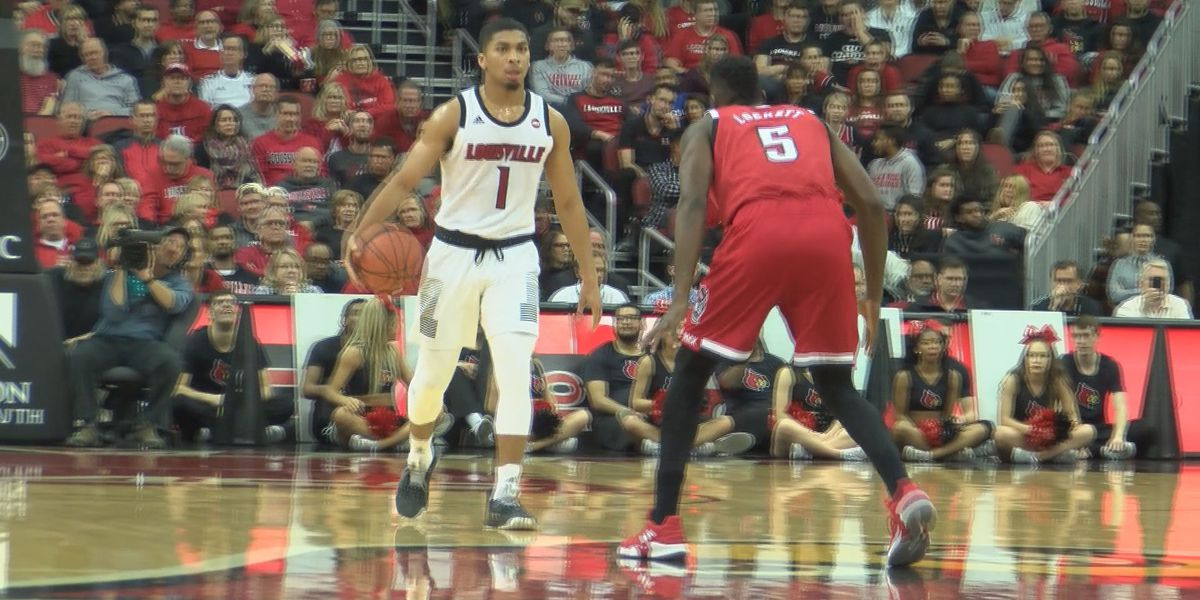 #23 UofL wins fourth straight, holds off #21 NC State 84-77