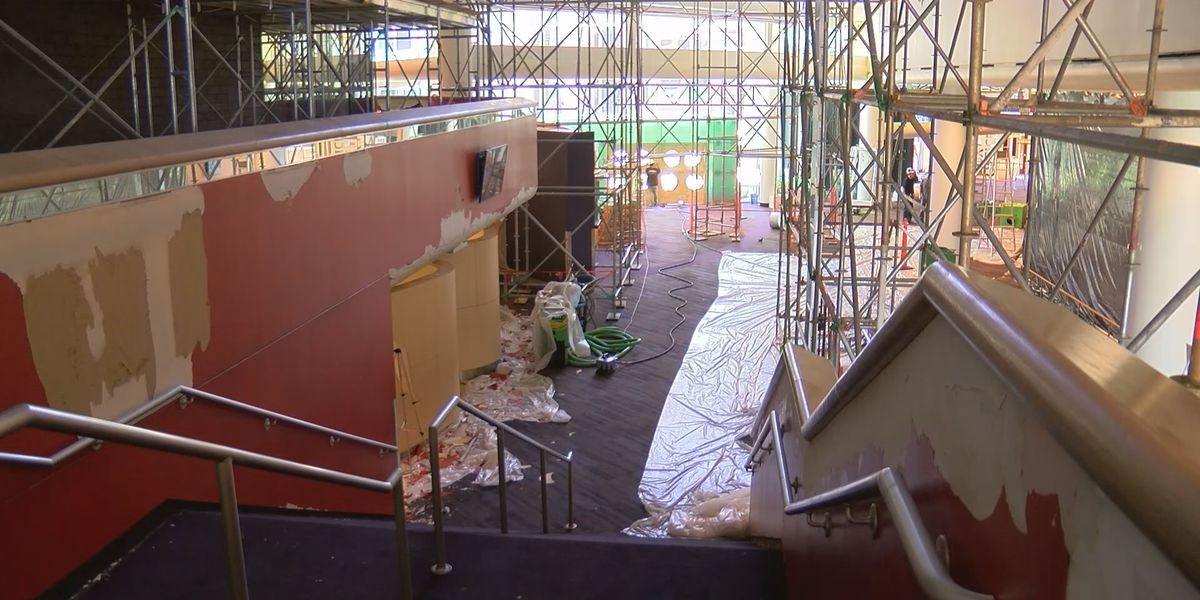 Kentucky Center construction going strong through popular show schedule