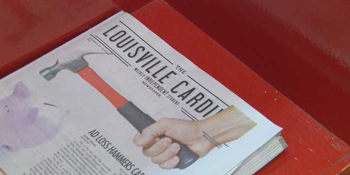 UofL cuts funding, student newspaper in jeopardy