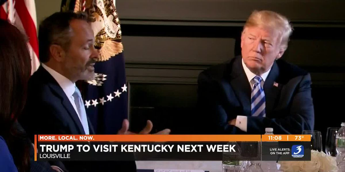 Gov. Bevin says Trump's visit next week won't be his last before Election Day