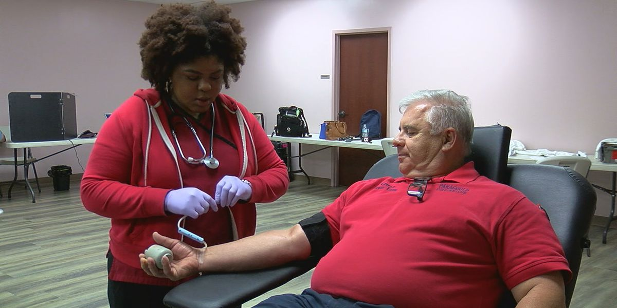 Volunteers encouraged to donate blood on Memorial Day